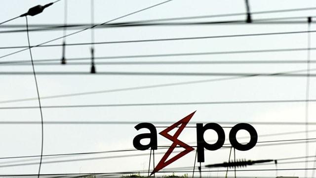 Logo dad Axpo tranter fils d'electricitad.