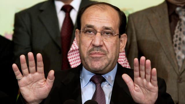 Präsident Maliki