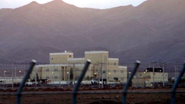 Atomanlage Natanz in Iran