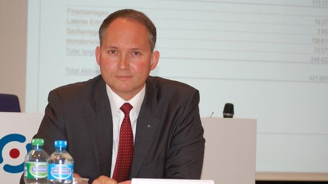 Ypsomed-CEO Simon Michel.