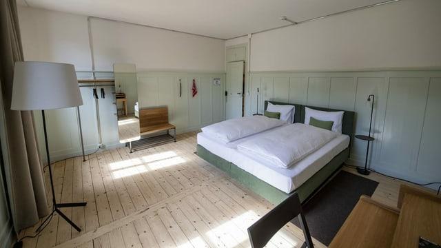 Leeres Hotelzimmer.