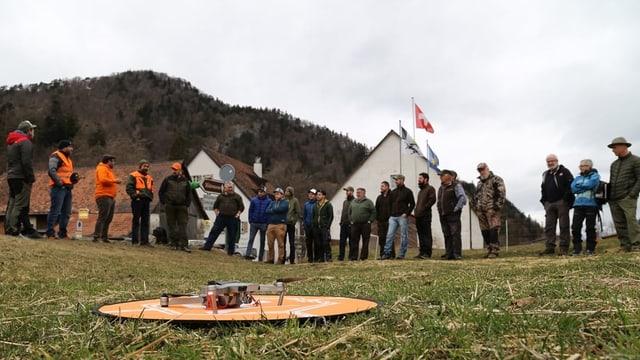Scolaziun da pilots da dronas.