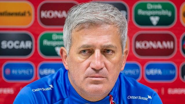 Il trenader da la squadra naziunala da ballape svizra, Vladimir Petković.