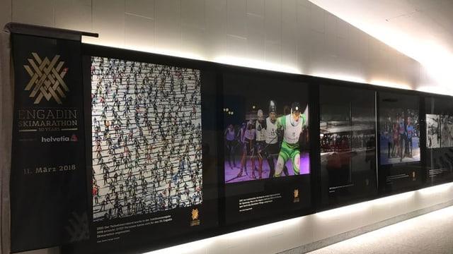 Fotos exposiziun maraton Engiadina