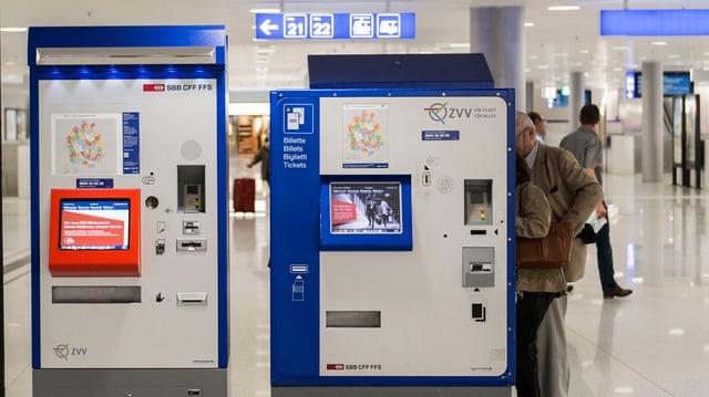 Billettautomat der SBB