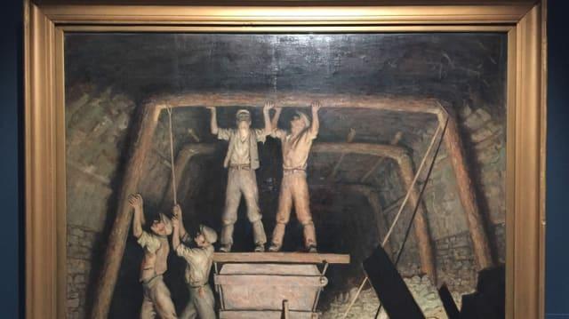 Bild des Minenbaus.