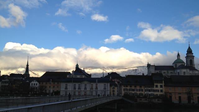 Klare Luft über dem Kanton Solothurn.