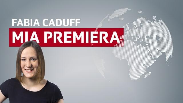 "logo ""Fabia Caduff - mia premiera"""
