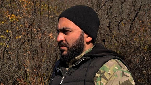 Ararat Schabasajan, armenischer Kameramann und Evakuationshelfer aus der Stadt Stepanakert.