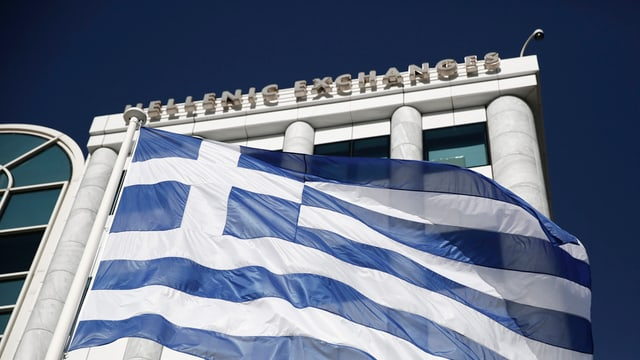 La bursa greca ad Athen.