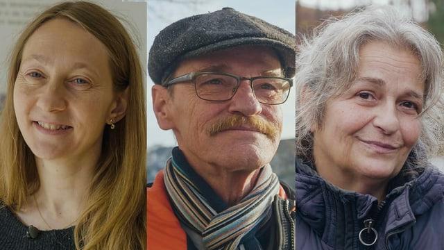 Danica Graf, Markus Christen und Renate Greber sprechen offen und ehrlich über das Leben mit einem sehr knappen Budget.