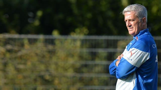 Nati-Coach Vladimir Petkovic trifft mit seinem Team einen Tag später auf Polen.