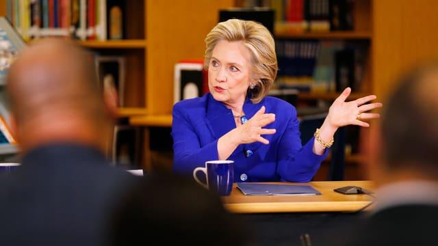 Hillary Clinton bei einer Veranstaltung Anfang Mai.