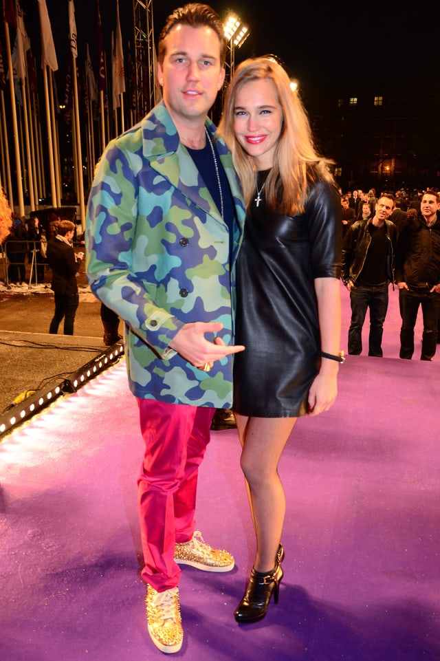 DJ Antoine mit seiner Ex-Freundin Stéphanie van Arendonk