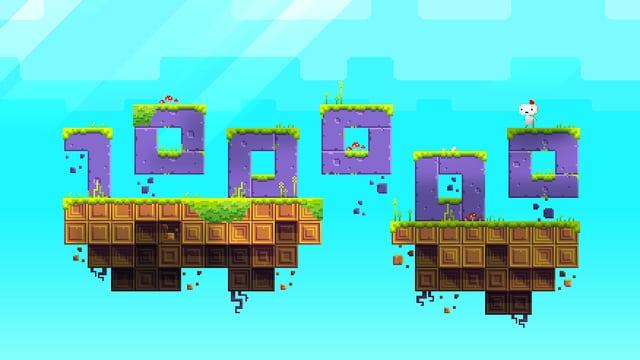 Bildschirmfoto des Games «Fez»