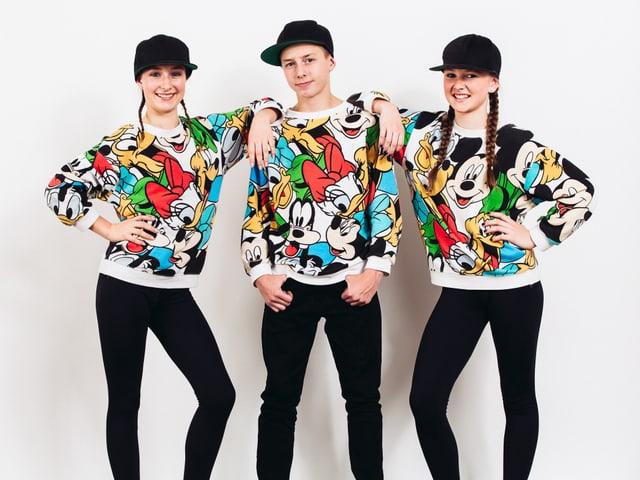 Porträt Steep Dance Crew.