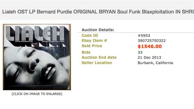 Auktion Platte
