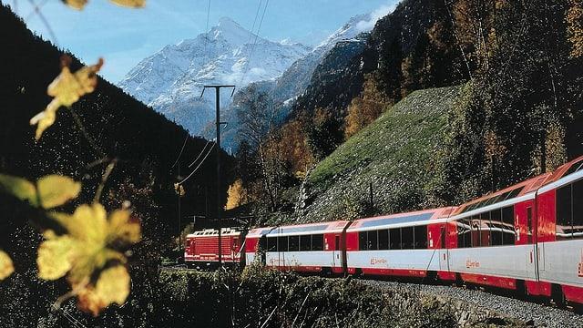 Tren da la BVZ.