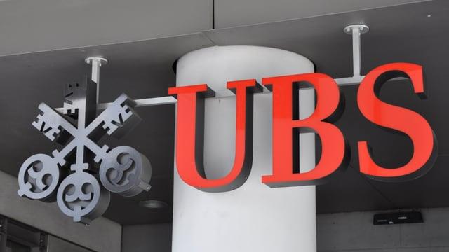 Logo da la banca UBS cun las 3 clavs.