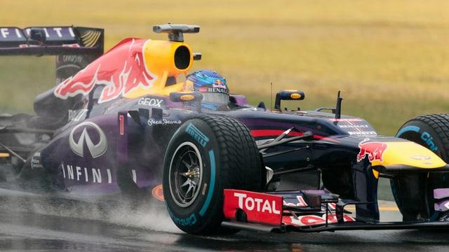 Bereits im ersten Qualifying wieder vorne: Sebastian Vettel.
