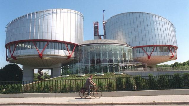 Gebäude des Europäischen Gerichtshofes für Menschenrechte in Strassburg