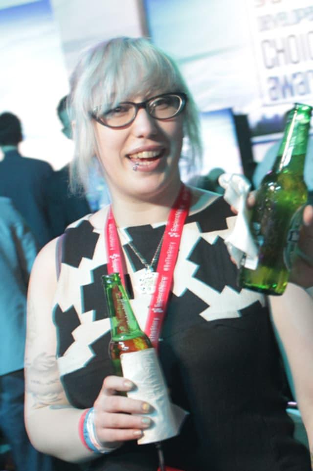 Ein Portrait der Game-Designerin Zoe Quinn