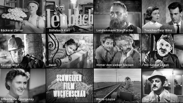 Bilder von Schweizer Schauspieler aus den 50er Jahren