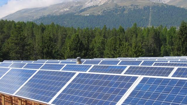 Tetgs solars en il Grischun