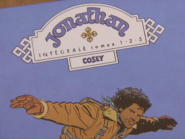 """Eine der Titelseiten der Serie """"Jonathan""""."""