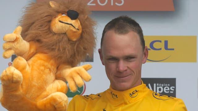 Chris Froome gewinnt den Dauphiné Libéré.