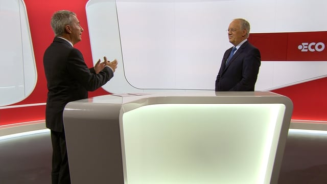 Reto Lipp und Johann Schneider-Ammann.