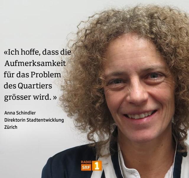 Anna Schindler, Direktorin Stadtentwicklung Zürich