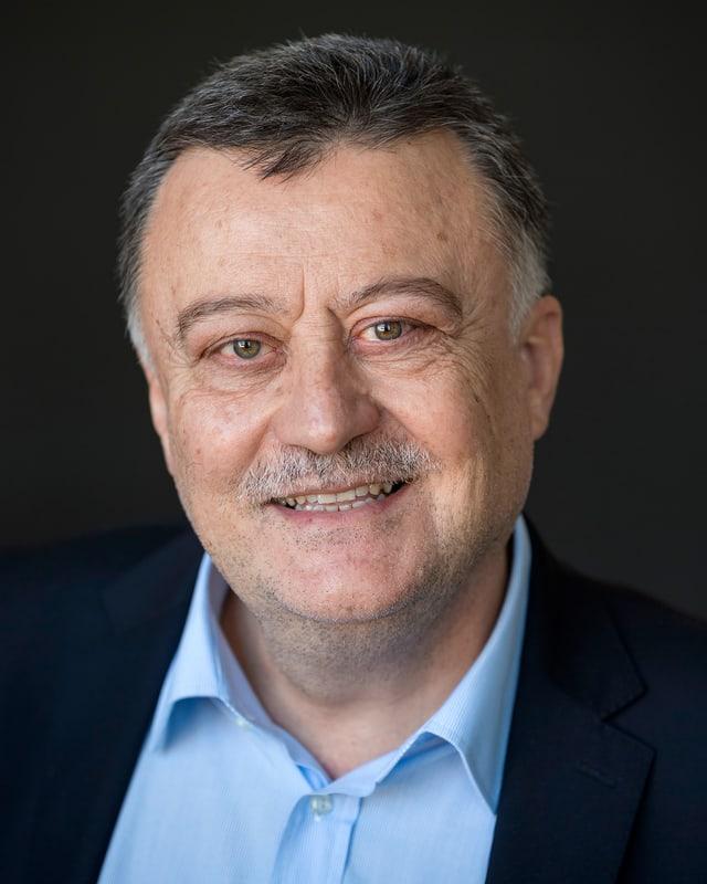 Portraitaufnahme von Prof. Konstantinos Boulouchos