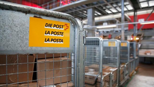 Il pli savens ha la clientella reclamà pervi da pachets ch'èn ids a perder.