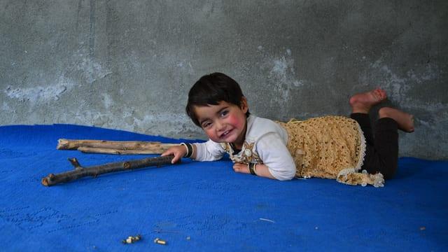 die zweijährige Hiba.
