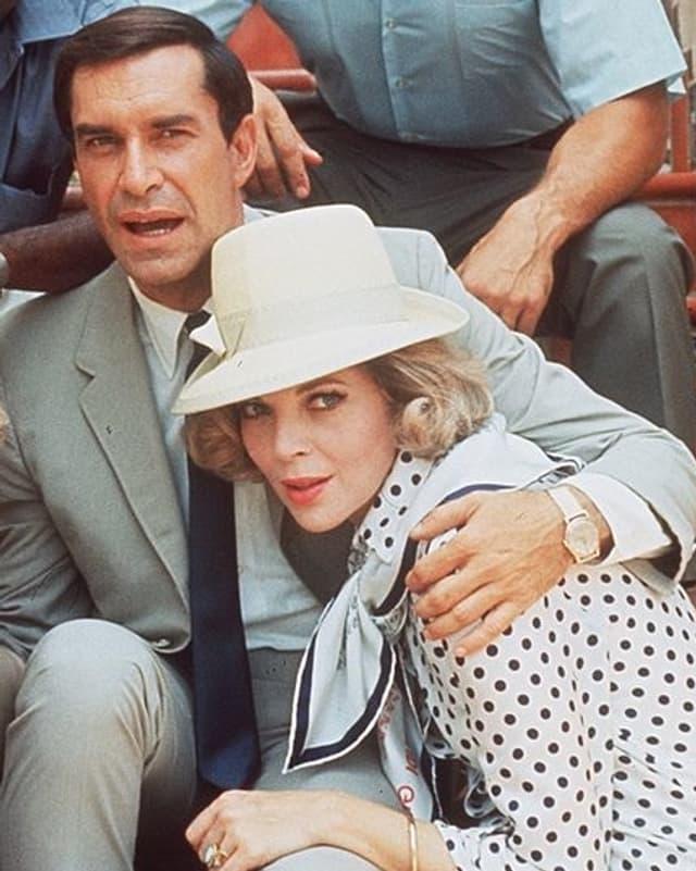 Martin Landau und seine Frau.