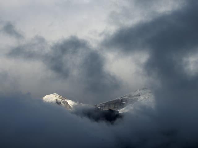 angezuckerte Berge.
