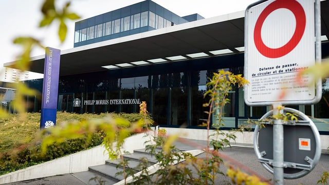 Philip Morris-Sitz in Lausanne