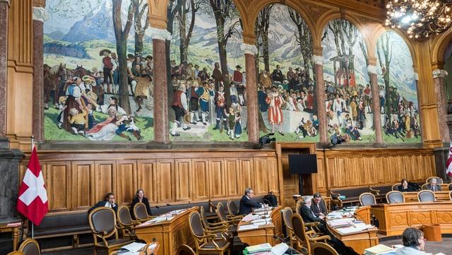 Ständerats-Saal im Bundeshaus