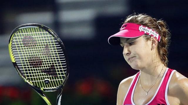 La giuvna giugadra da tennis Belinda Bencic è trumpada.
