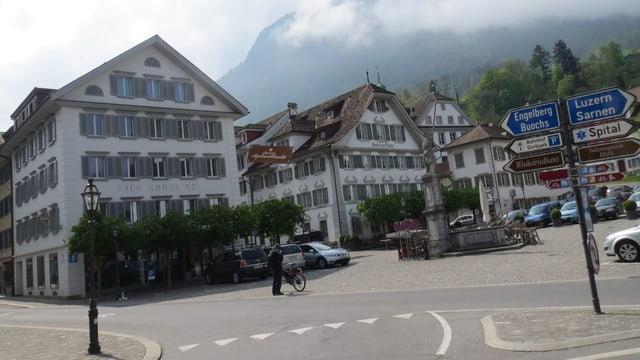 Dorfplatz von Stans