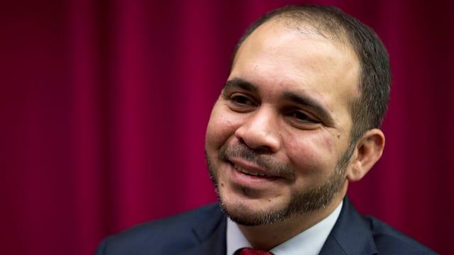 Prinz Ali bin Al Hussein im Porträt.