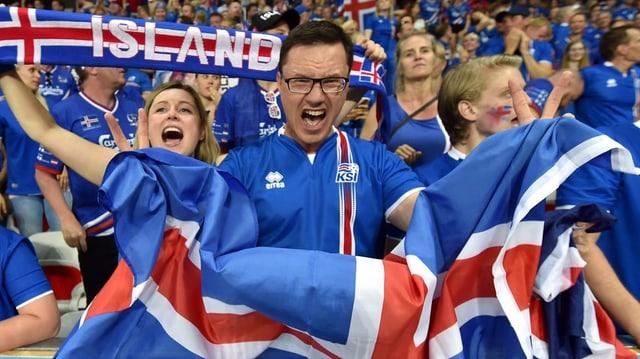 Fans da l'Islanda.