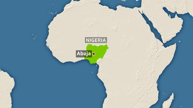 Karte Afrikas