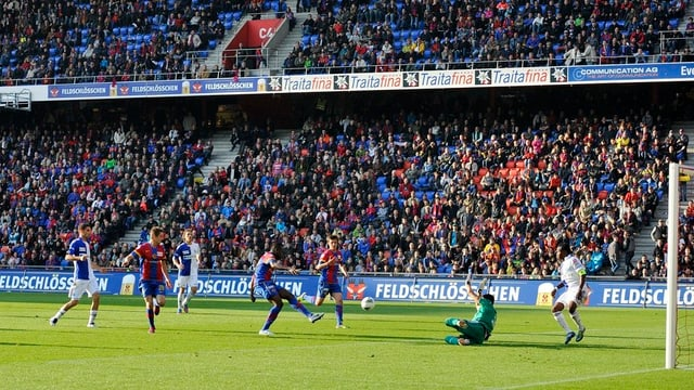 Der FC Basel ist ein attraktiver Werbepartner, solange er erfolgreich genug spielt, um das Stadion zu füllen.
