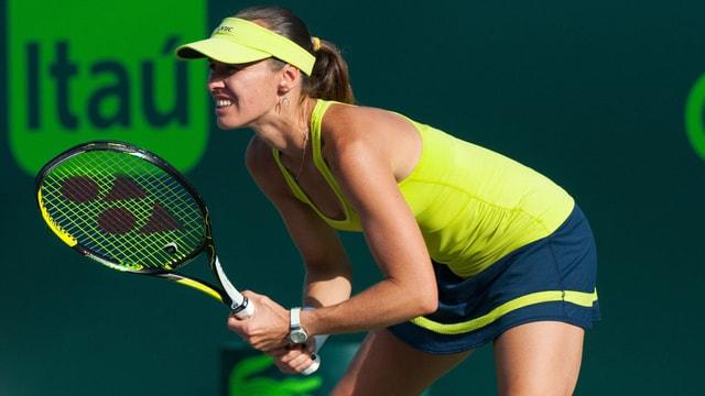 Martina Hingis en dress da tennis