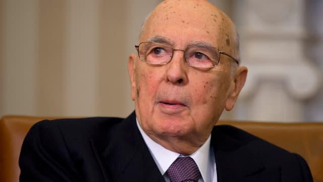 Staatspräsiden Napolitano.