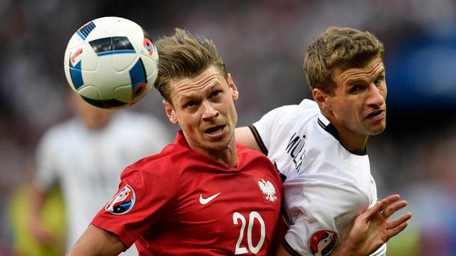 La Pologna e la Germania sa separan cun in pari.