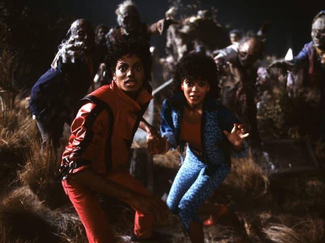 «Thriller» kostete damals eine halbe Million US-Dollar und war lange das teuerste Musikvideo aller Zeiten.