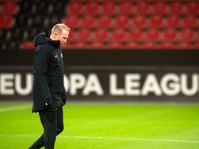 Ludovic Magnin spielt mit Zürich in Leverkusen.